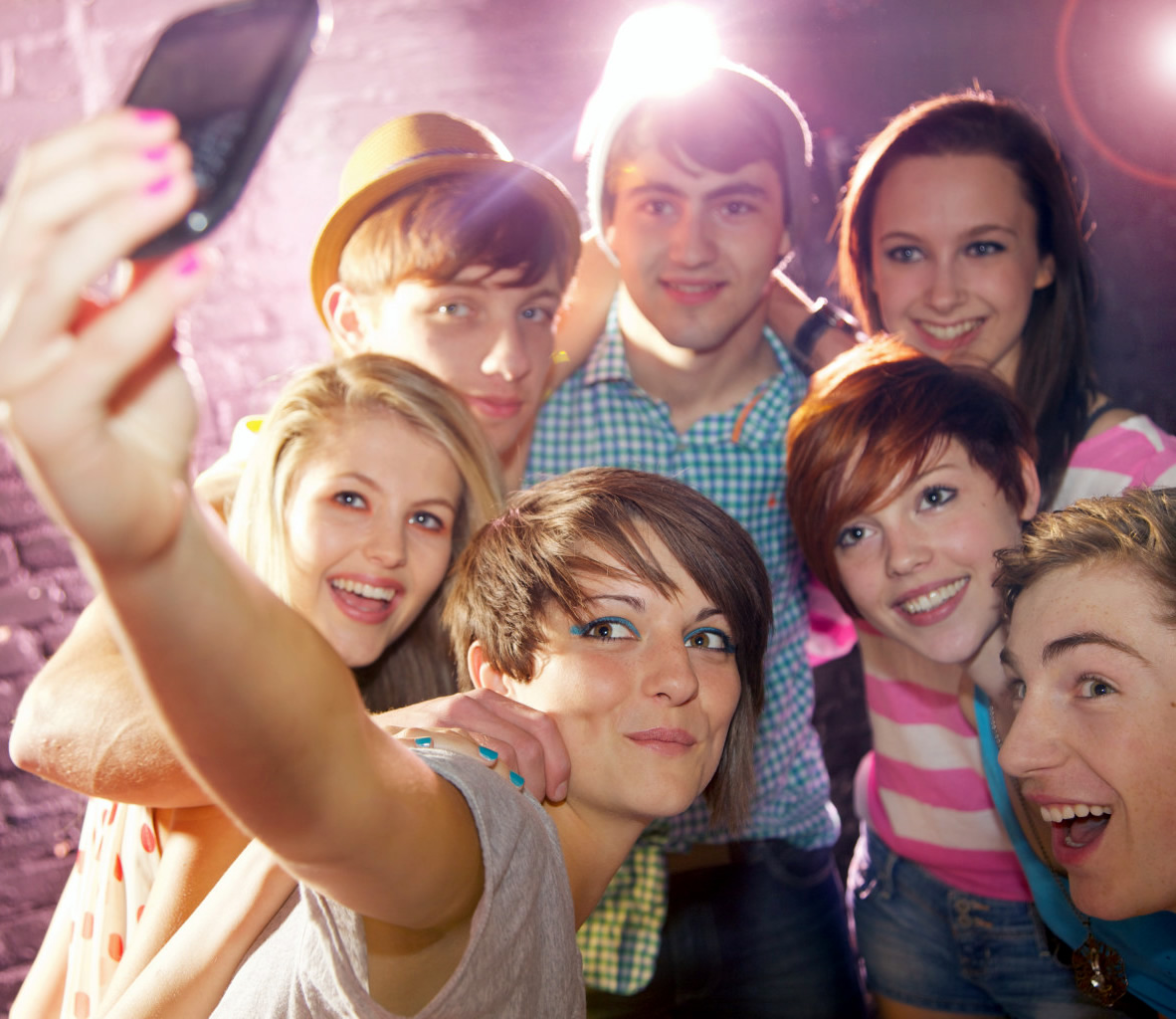 selfie ados