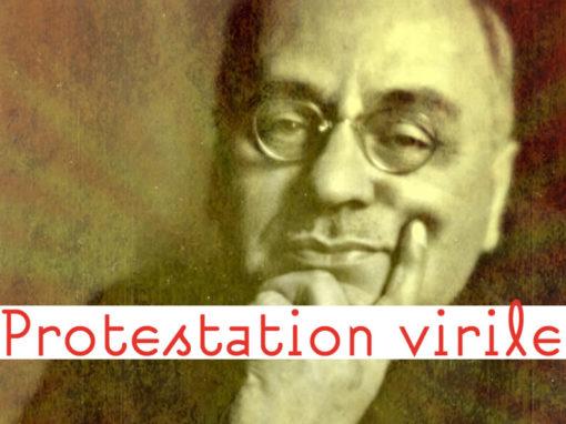 Lexique Protestation Virile