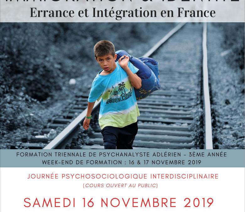 Week-end 16-17 Novembre 2019