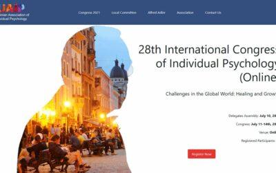 28ème Congrès de l'IAIP – Congrès International Adlérien